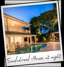 Sandalwood House at Night